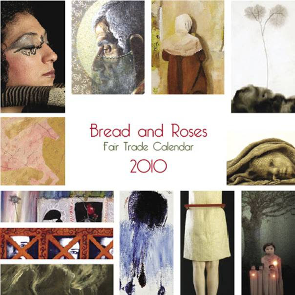 Paintings from the Bread and Roses calendar